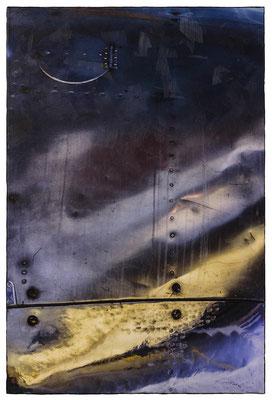 KEIN BERGSPIEL (2016, 1/8, 60x90cm, MP0141, Photographie, Inkjet-Pigmentdruck auf Leinwand, Acryl) © Michael Pfenning