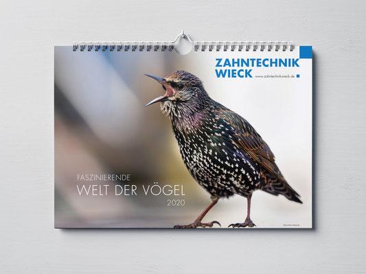 Projekt  |  Kalender Zahntechnik Wieck  |  © JONAS WIECK © MARIO HERZOG