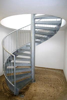 Spindeltreppe Außentreppe AT 111
