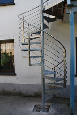 Spindeltreppe Außentreppe AT 120