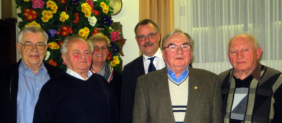 Juliare 2018 - 50 Jahre Mitglied im Heimat- und Gartenbauverein Hille