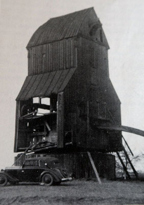 baufällige Kreugers Müöln im Jahre 1945