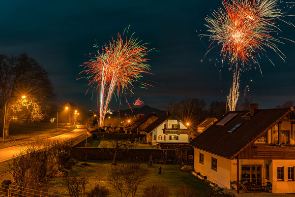 Feuerwerk Trabitz