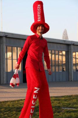 Stelzenläufer Kostüm