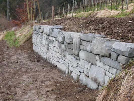 Trockenmauer (Foto: A. Reich)