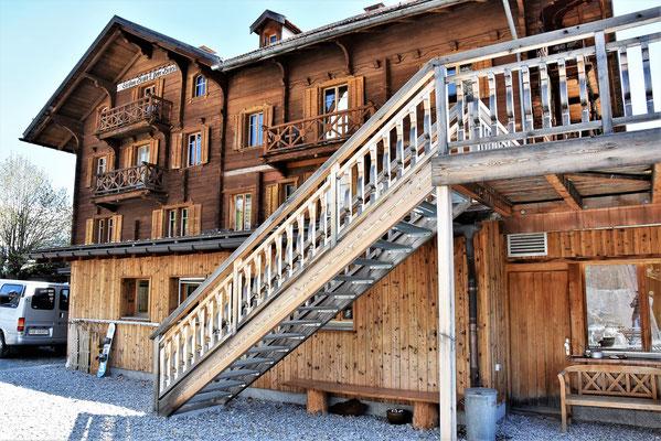 Restaurant Gürgaletsch in der Alpina Lodge