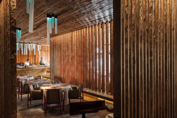 Megu Restaurant im The Alpina Gstaad