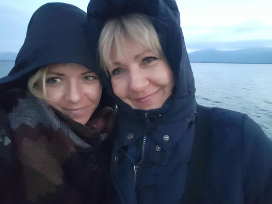 Mutter und Tochter am Chiemsee 2016