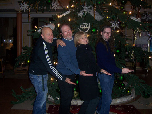 TT-Bluesband in Freiburg Weihnacht 2012