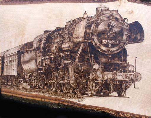 Dampflokomotive Baureihe 52