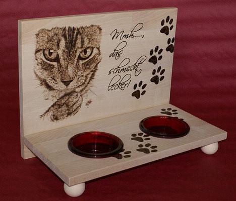 Futterbar für Katzen
