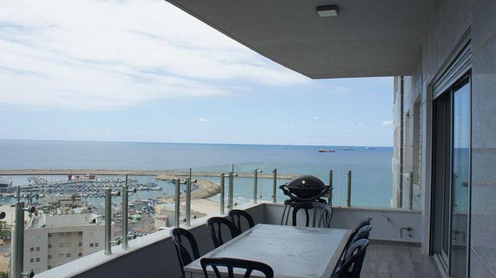 Vue mer panoramique