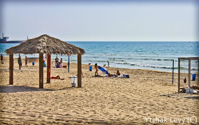 Belle plage d'Ashdod