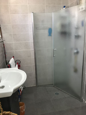 Showerbathroom