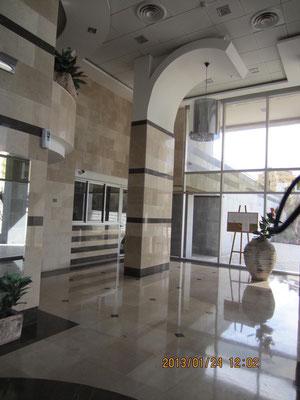 Lobby luxueux