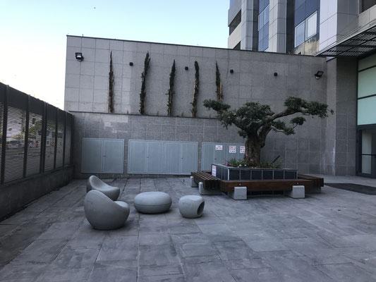 Extérieur de l'immeuble