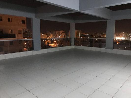 Vue la nuit 2ème terrasse