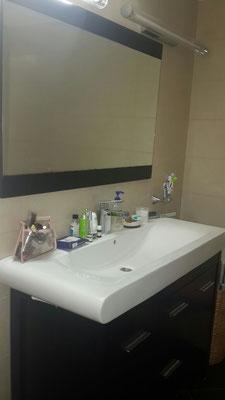2ème salle de bain avec douche