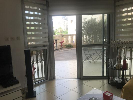 Portes vitrées sécurisées