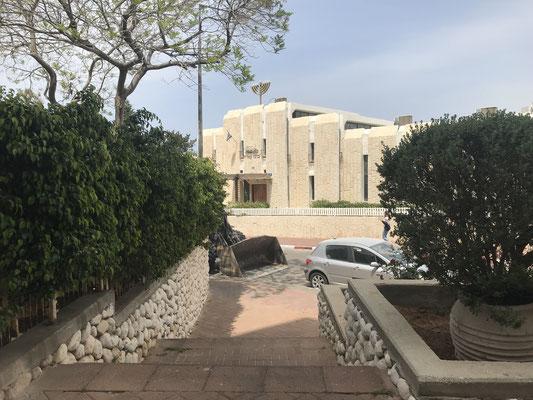 Synagogue en bas de la résidence