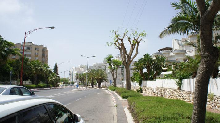 route vers la plage