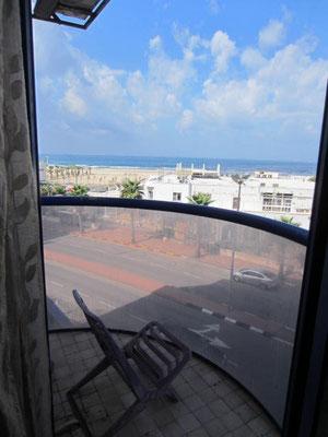 Balcon vue mer de face