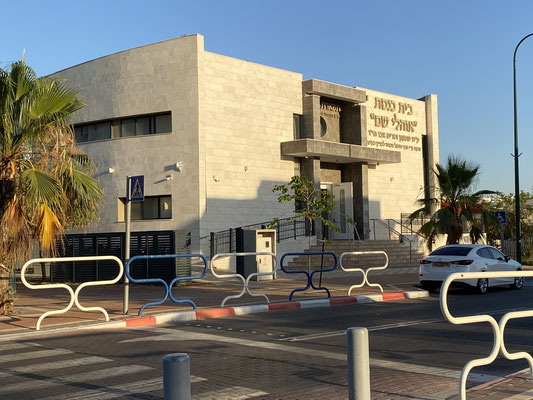 Synagogue en face de la résidence