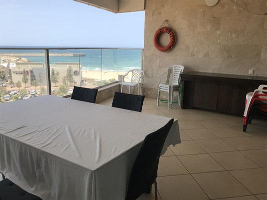Terrace vue mer