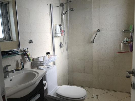 Parents shower bathroom