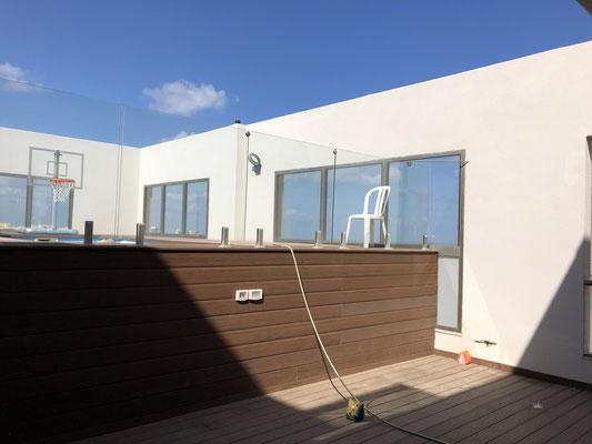 Terrasse avec piscine