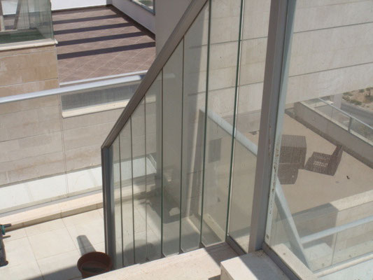 Vers la 2ème terrasse