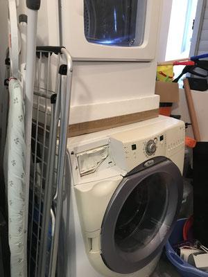 Lave-linge + sèche-linge