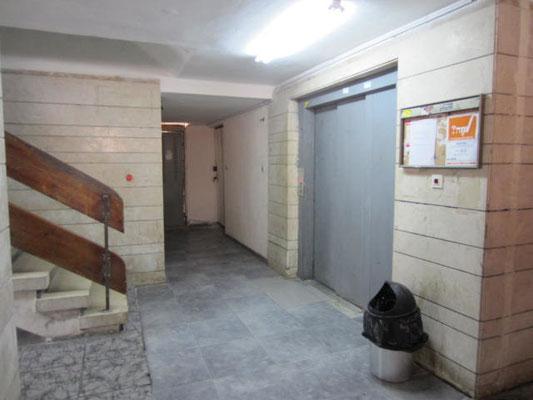 Lobby et ascenseur