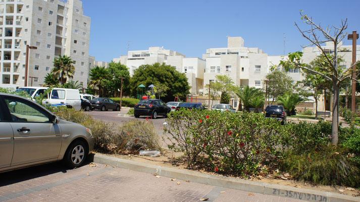 Parking et parc de jeux