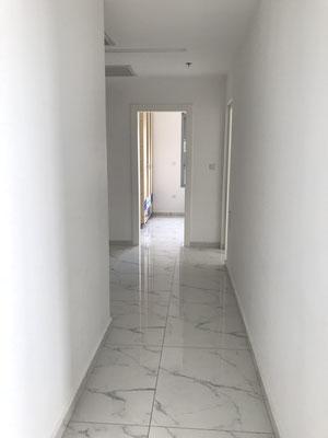 Vers les chambres