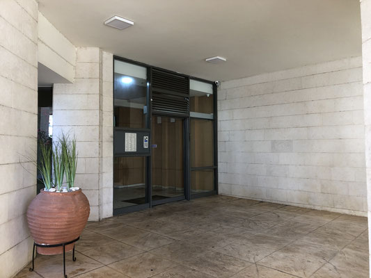 Entrance with code