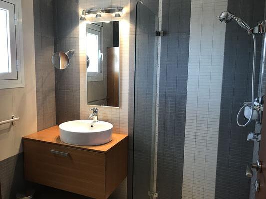 1st shower bathroom