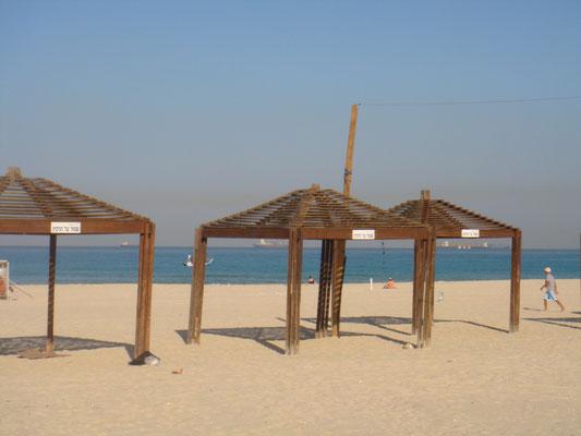 Grande plage de sable blanc