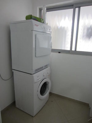 Lave linge, sèche linge et lave vaisselle