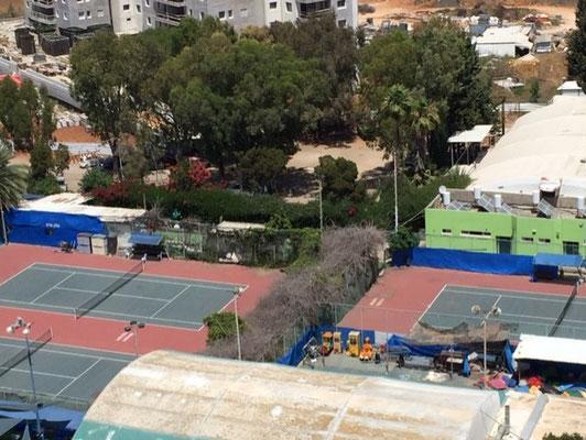Tennis du centre de loisirs