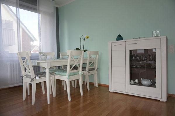 Pastelltöne Wohnzimmerwände gestrichen von Raumdesign Tommaso