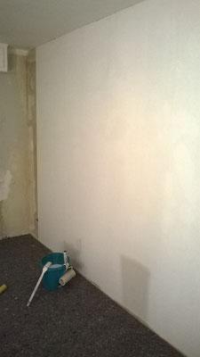 Wohnzimmer mit Malervlies tapezieren