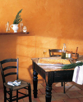 Italienische Spachteltechnik Spatula Stuhhi Esszimmer - Küche