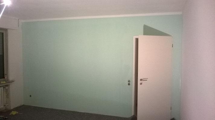 Pastelltöne streichen schöne Wände mit schöne Farben