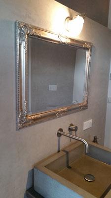 Betonoptik im Badezimmer - Renovierung und Sanierung von Maler Tommaso