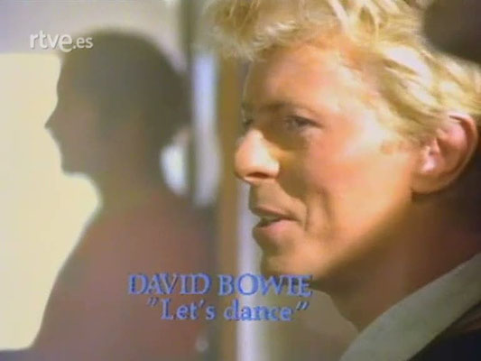 "DAVID BOWIE  ""Let's Dance""  04/10/1984"