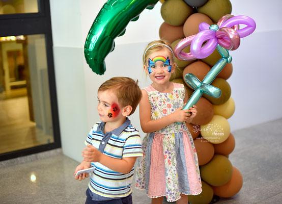 Kinderschminken im Wiggispark in Nestal 2018