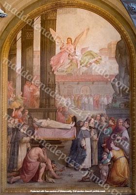 Funerali della Bagnesi con la presenza dell'Ordine Domenico