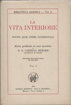 1921 la vita interiore