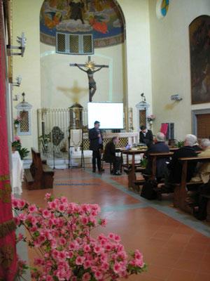 Prof. A. Pellegrini, Docente di Teologia Trinitaria alla Facoltà Teologica di Firenze